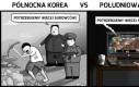Korea Północna vs Korea Południowa