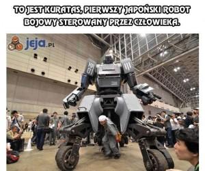 Kuratas - japoński robot bojowy sterowany przez człowieka