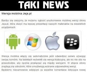 Taki news!