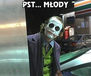 Joker daj mi spokój...