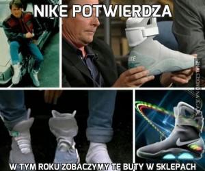 Nike potwierdza