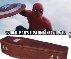 Dwa kostiumy z Civil War!