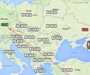 Mapa, którą dostaje każdy Syryjczyk
