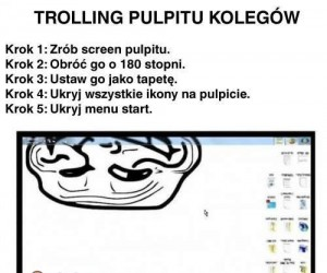 Trolling pulpitu kolegi