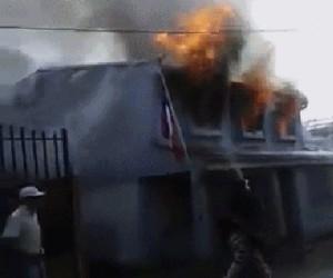 Gaszenie pożaru - robisz to źle