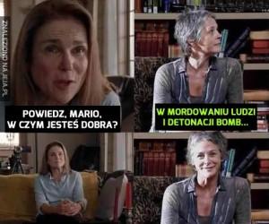 Z Marią nie ma żartów
