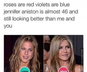 Wierszyk o Jennifer Aniston