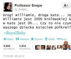 Uwaga, profesor Snape chciałby o coś zapytać!