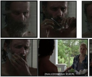 Rick, a mogłeś się nie golić!