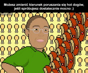 Udało Ci się zmienić ruch hot dogów?