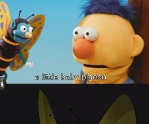 Jaki słodki motylek!
