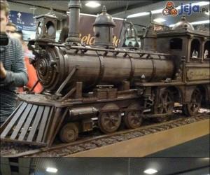 Czekoladowy pociąg
