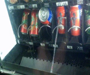 Darmowy napój z automatu