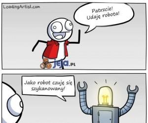 Udaję robota