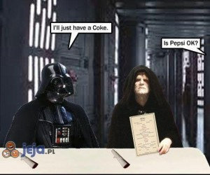 Vader nie lubi Pepsi