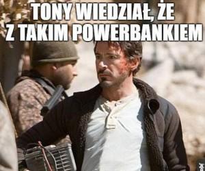 Tony Stark wie, jak w to grać