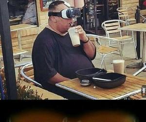 Romantyczny wieczór w VR