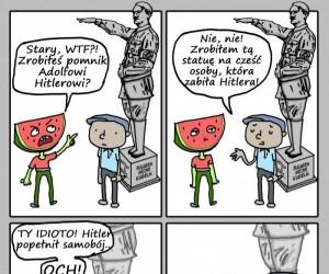 Statua Hitlera