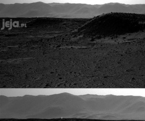 Dziwne światło na Marsie