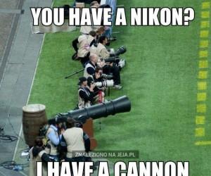 Masz Nikona? Och, jak słodko