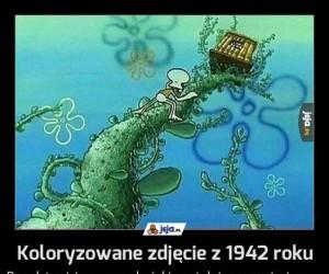 Koloryzowane zdjęcie z 1942 roku