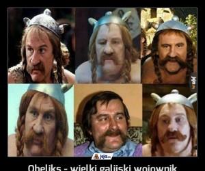 Obeliks - wielki galijski wojownik