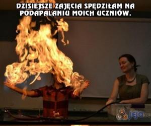 Dzień z życia nauczycielki chemii