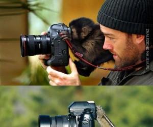 Zwierzęta, które interesują się fotografią