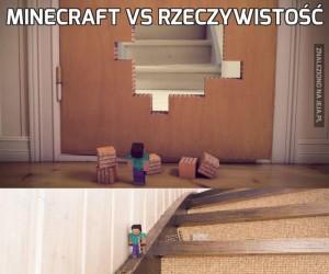 Minecraft vs rzeczywistość