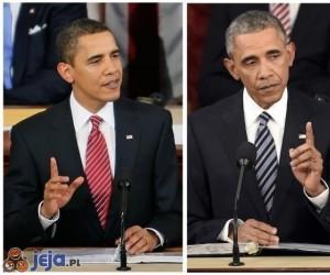 Obama od 2009 roku postarzał się o jakieś 20 lat