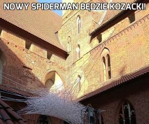 Nowy spiderman będzie kozacki