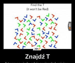Znajdź T