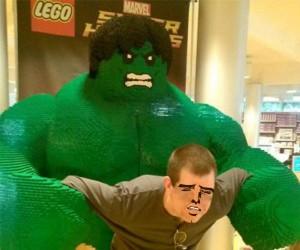 Hulk miażdżyć!