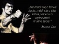 Życiowa mantra od Bruce'a Lee