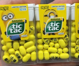 Minionki w Tic Tacach