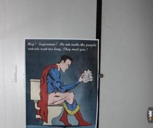 Wiadomość dla Supermana