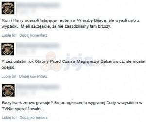 Informacje z Hogwartu