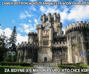 Zamek Butron w Hiszpanii wystawiony na sprzedaż