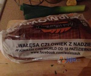 Reklama na chlebie