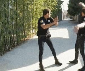 Policja w rurkach