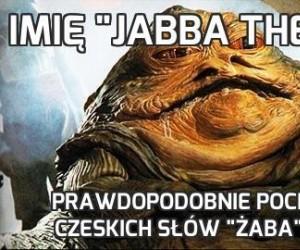 """Imię """"Jabba the Hutt"""""""