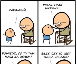 Co masz za uchem, Billy?