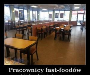 Pracownicy fast-foodów