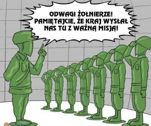 Żołnierze, nie możemy zawieść!