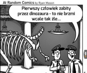 Pierwszy człowiek zabity przez dinozaura
