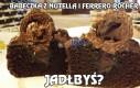 Babeczka z Nutellą i Ferrero Rocher