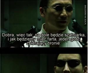 Świetny tekst z Matrixa