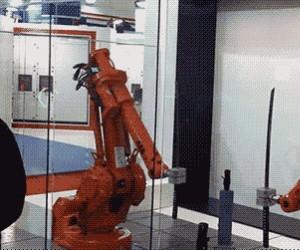 Walka robotów na katany