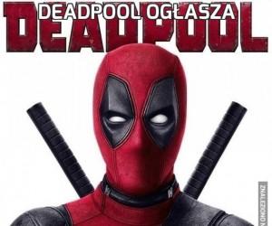 Deadpool ogłasza