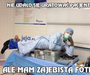 Nie udało się uratować pacjenta